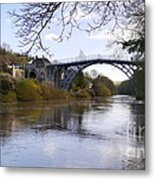 The Iron Bridge 2 Metal Print