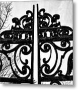 The Iron Gate Metal Print