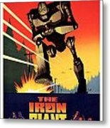 The Iron Giant 1999 Metal Print