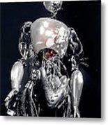 The Iron Robot Metal Print