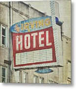 The Irving Hotel In Chicago Metal Print