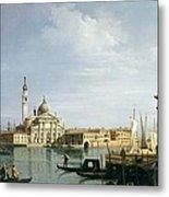 The Island Of San Giorgio Maggiore Metal Print