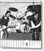 The J. Geils Band Rock Out In Oakland In 1976 Metal Print