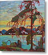 The Jack Pine After Tom Thomson Metal Print