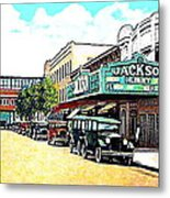 The Jackson Theatre In Jackson Hts. Queens N Y In 1930 Metal Print