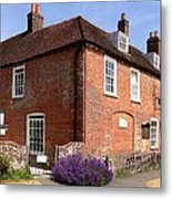 The Jane Austen Home Chawton England Metal Print