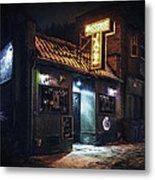 The Jazz Estate Nightclub Metal Print