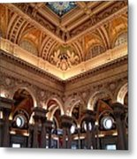 The Jefferson Building Library Of Congress Metal Print