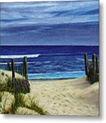 The Jersey Shore Metal Print
