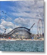The Jersey Shore Metal Print by Lori Deiter
