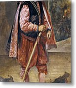 The Jester Named Don John Of Austria Metal Print