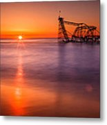 The Jet Star Metal Print