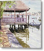 The Jetty Cochin Metal Print