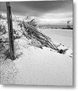 The Jetty Metal Print by Michelle Wiarda