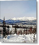 The John River Valley Metal Print