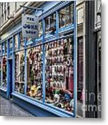 The Joke Shop Metal Print