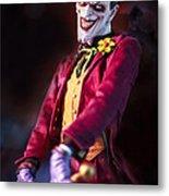 The Joker Dummy Metal Print