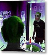The Joker In Me Metal Print