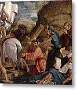 The Journey To Calvary, C.1540 Metal Print