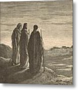 The Journey To Emmaus Metal Print