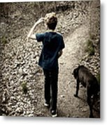 The Journey Together Metal Print
