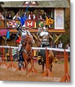 The Jousters 2 Metal Print