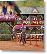 The Jousters Metal Print