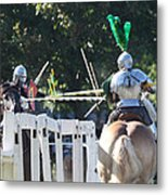 The Jousting Contest  Metal Print