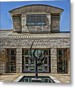 The Jule Collins Smith Museum Of Fine Art Metal Print
