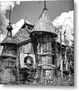 The Junk Castle Iv Metal Print