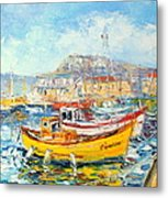 The Kalk Bay Harbour Metal Print