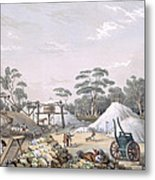The Kapunda Copper Mine, From South Metal Print