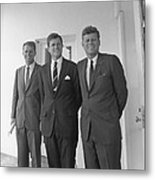 The Kennedy Brothers Metal Print