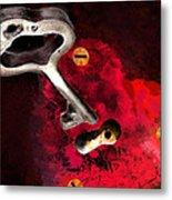 The Key To My Heart Metal Print