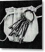 The Keys Metal Print