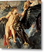 The Kidnapping Of Ganymede Metal Print