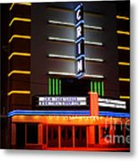 The Kilgore Crim Theater Metal Print