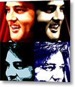 The King Of Rock And Roll Metal Print
