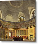 The Kings Library Metal Print