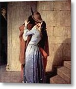 The Kiss 1859 Metal Print