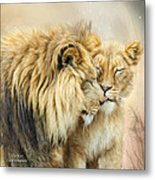 The Kiss Metal Print