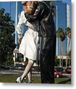 The Kiss - Sailor And Nurse - Sarasota  Metal Print