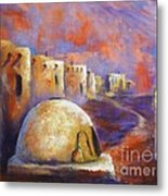 The Horno At Acoma Metal Print