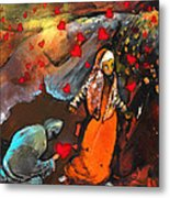 The Knight Of Your Heart Metal Print
