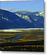 The Kootanie River In Bonners Ferry Idaho Metal Print