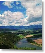 The Kootenai River Metal Print