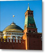 The Kremlin Senate Building - Square Metal Print