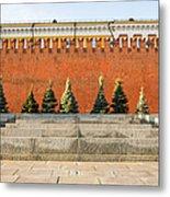 The Kremlin Wall Metal Print