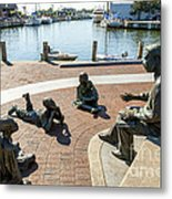 The Kunta Kinte-alex Haley Memorial In Annapolis Metal Print