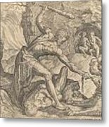 The Labours Of Hercuiles -3-capturing Cerebus 1563 Metal Print